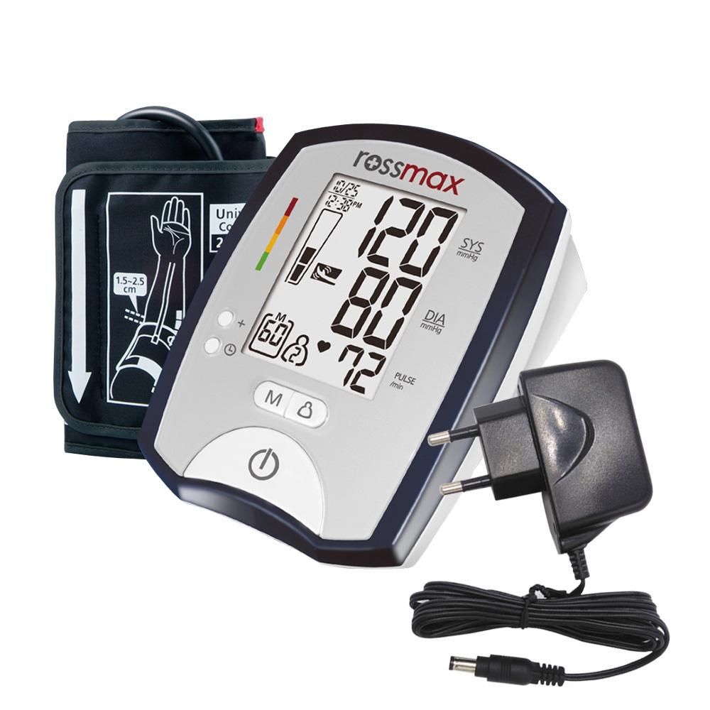 GC녹십자 로즈맥스 자동 혈압계 MJ701f + 전용 아답터, 1세트