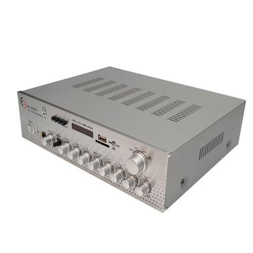 E3 4채널 포터블 USB / SD / BL 매장용 앰프 HI2424, HI-2424
