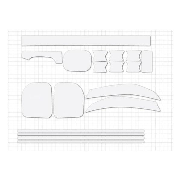 ORAGUARD 현대 팰리세이드 PPF 보호필름 세트, B PACKAGE, 1세트