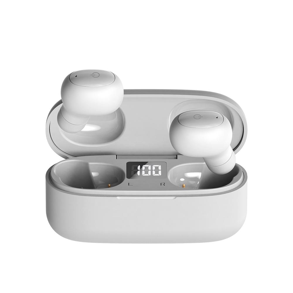 앱코 BEATONIC 블루투스 이어폰 EZ01, 1개, 화이트