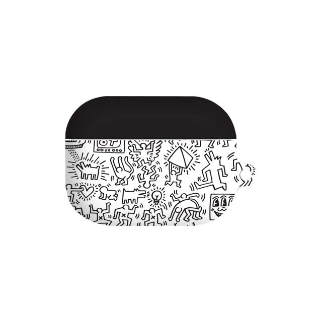 키스해링 에어팟 프로 이어폰 하드케이스, 단일상품, 패턴모노