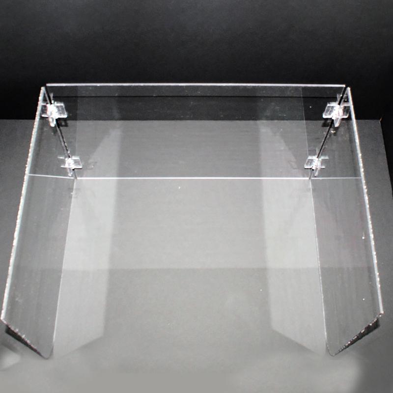 빅드림 아크릴 접이식 책상가림판 초등용 500 x 355 mm, 투명, 1개