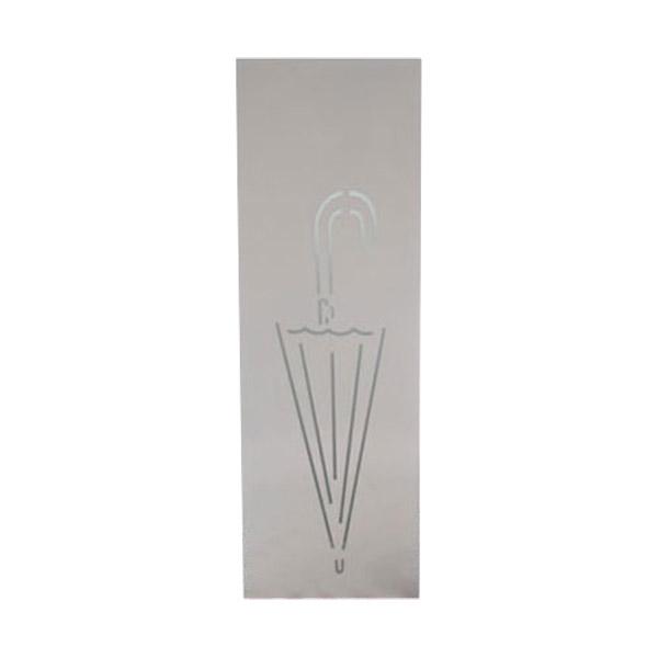 철제 사각 개업선물 모양 우산꽂이 화이트 특대, 1개