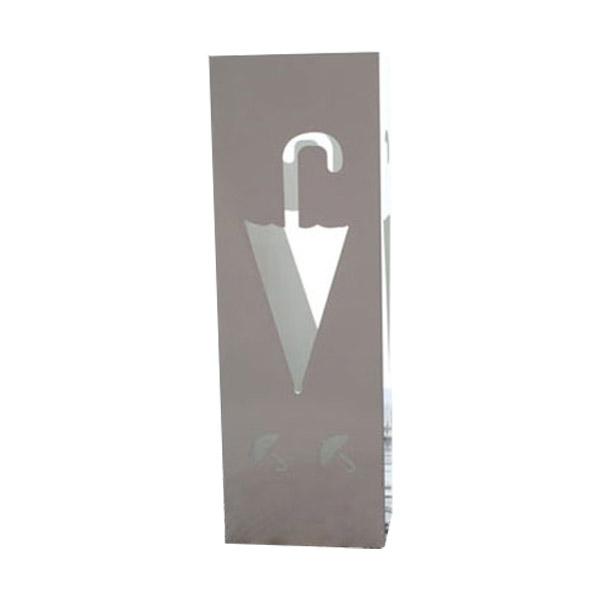 철제 사각 개업선물 큰우산 꽂이 화이트 특대, 1개