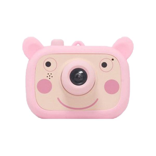 아카라치 어린이 디지털 카메라 wifi지원 + 32G SD카드, 단일 상품(핑크)