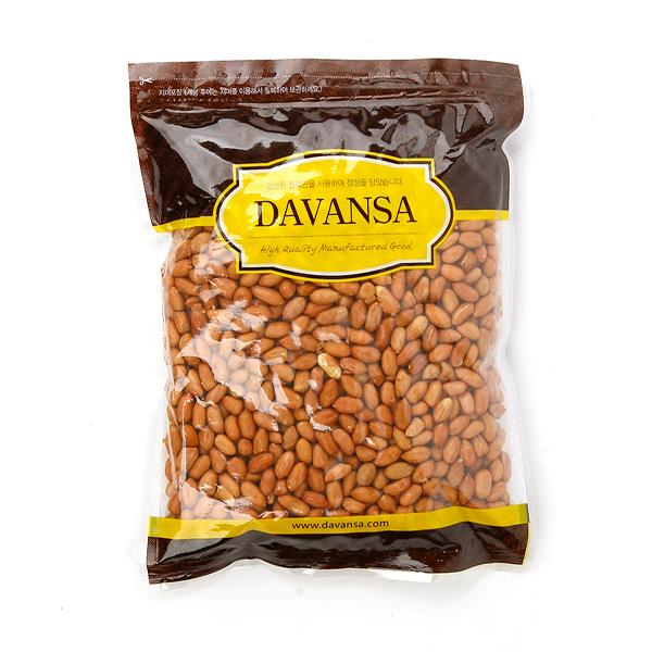 DAVANSA 햇 볶은땅콩, 1kg, 1개