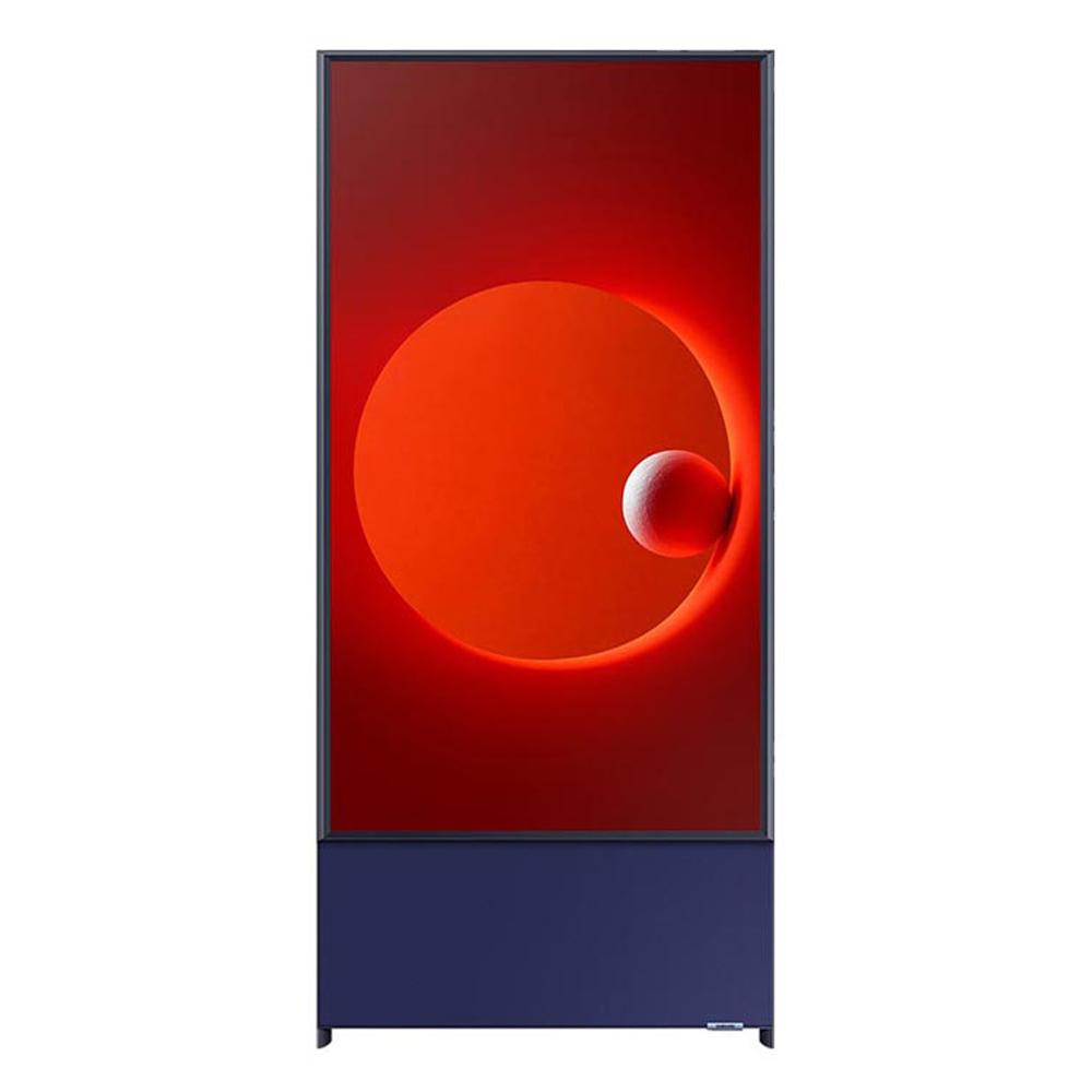 삼성전자 108cm 더 세로 TV KQ43LST05AFXKR 네이비블루, 스탠드형, 방문설치