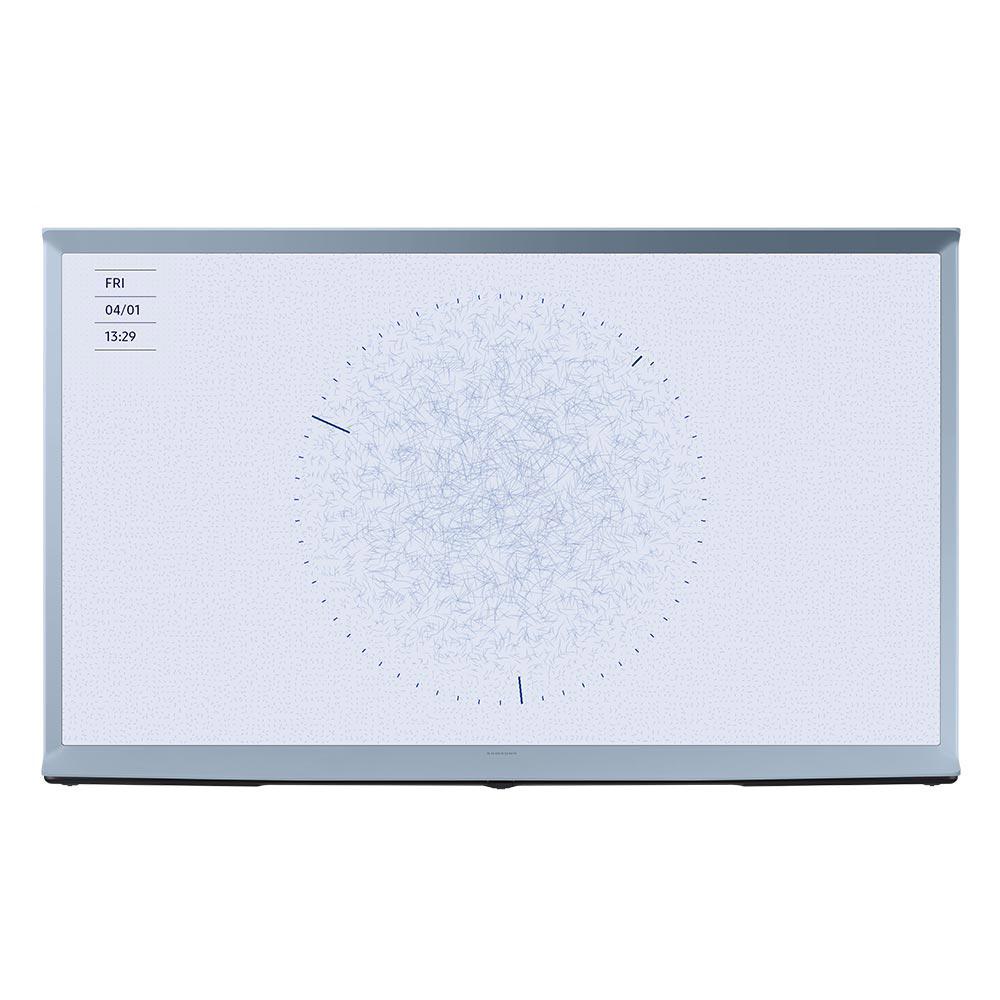 삼성전자 138cm 더 세리프 TV KQ55LST01BFXKR 코튼블루, 방문설치