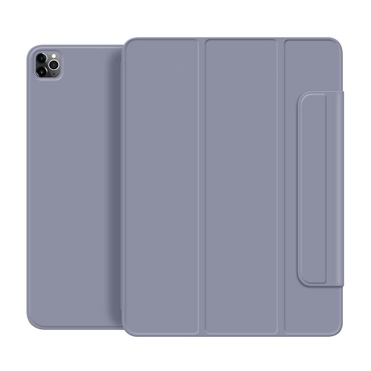 뷰씨 애플펜슬커버형 마그네틱 스마트커버 태블릿PC 케이스, 라벤더-2-1593657494