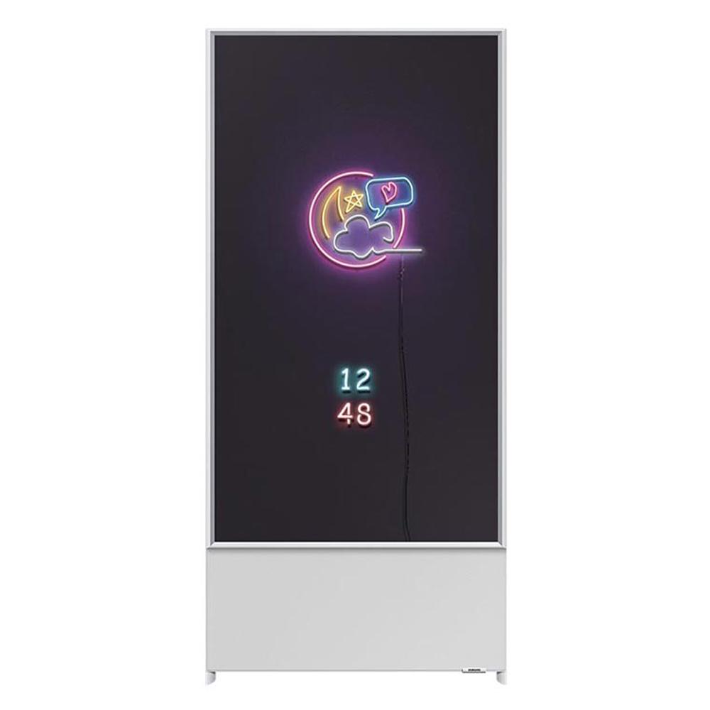 삼성전자 108cm 더 세로 TV KQ43LST05BFXKR 스페이스 화이트, 스탠드형, 방문설치