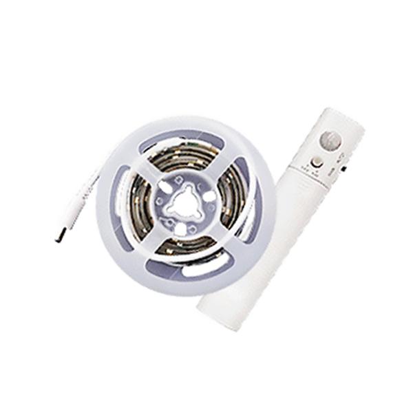 포라이트 LED 스트립 센서등, 전구색