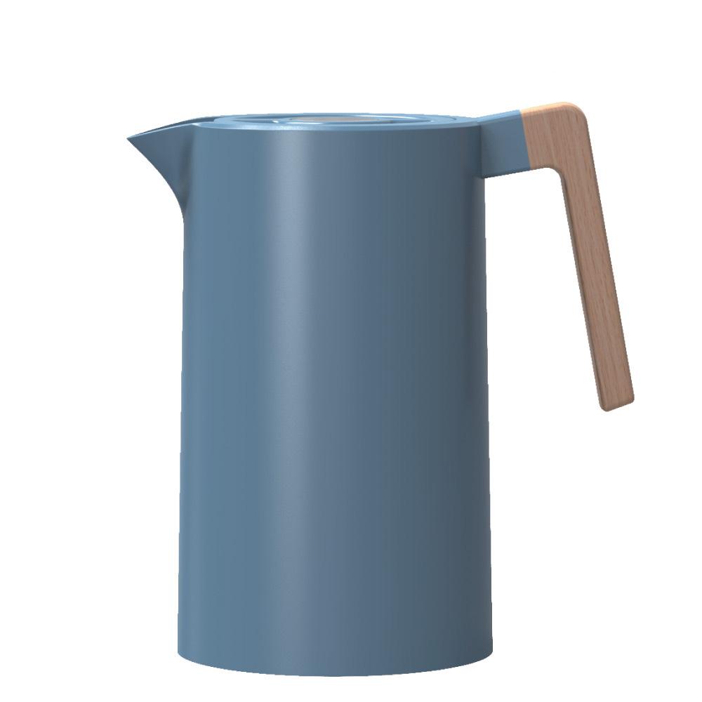 도모 스텐 304 헤리티지 보온 보냉 포트, 1000ml, 블루