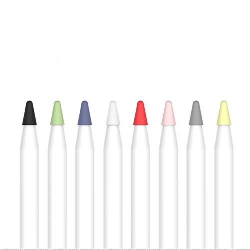 비오비 애플펜슬 펜촉 보호캡 8종 세트, 혼합색상, 1세트