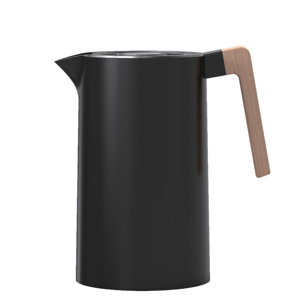 도모 스텐 304 헤리티지 보온 보냉 포트, 1000ml, 블랙