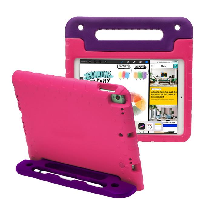 스냅케이스 스페셜 에바폼 안전 태블릿 케이스, 핑크베리