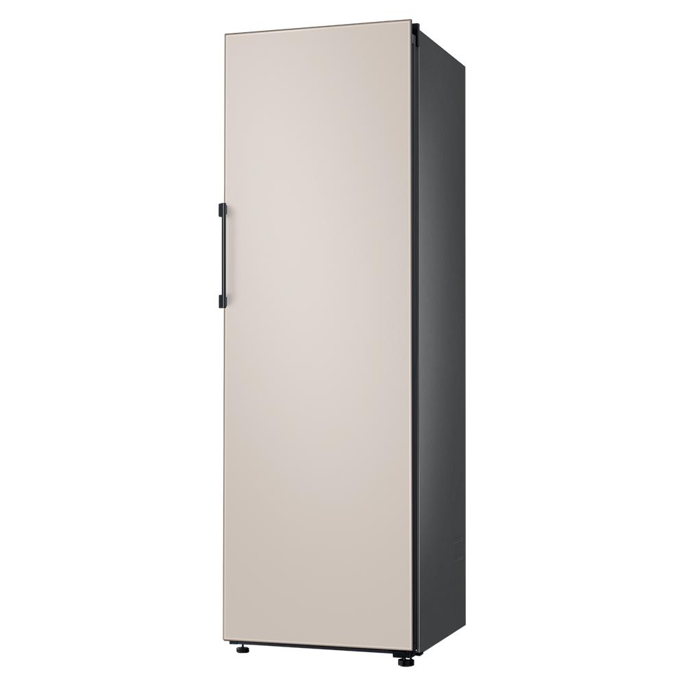 삼성전자 비스포크 1도어 냉장고 키친핏 새틴베이지 RR39T7605APBE 380L 방문설치