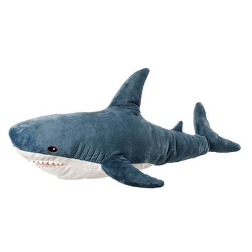 상어 동물 수면 애착 인형, 80cm