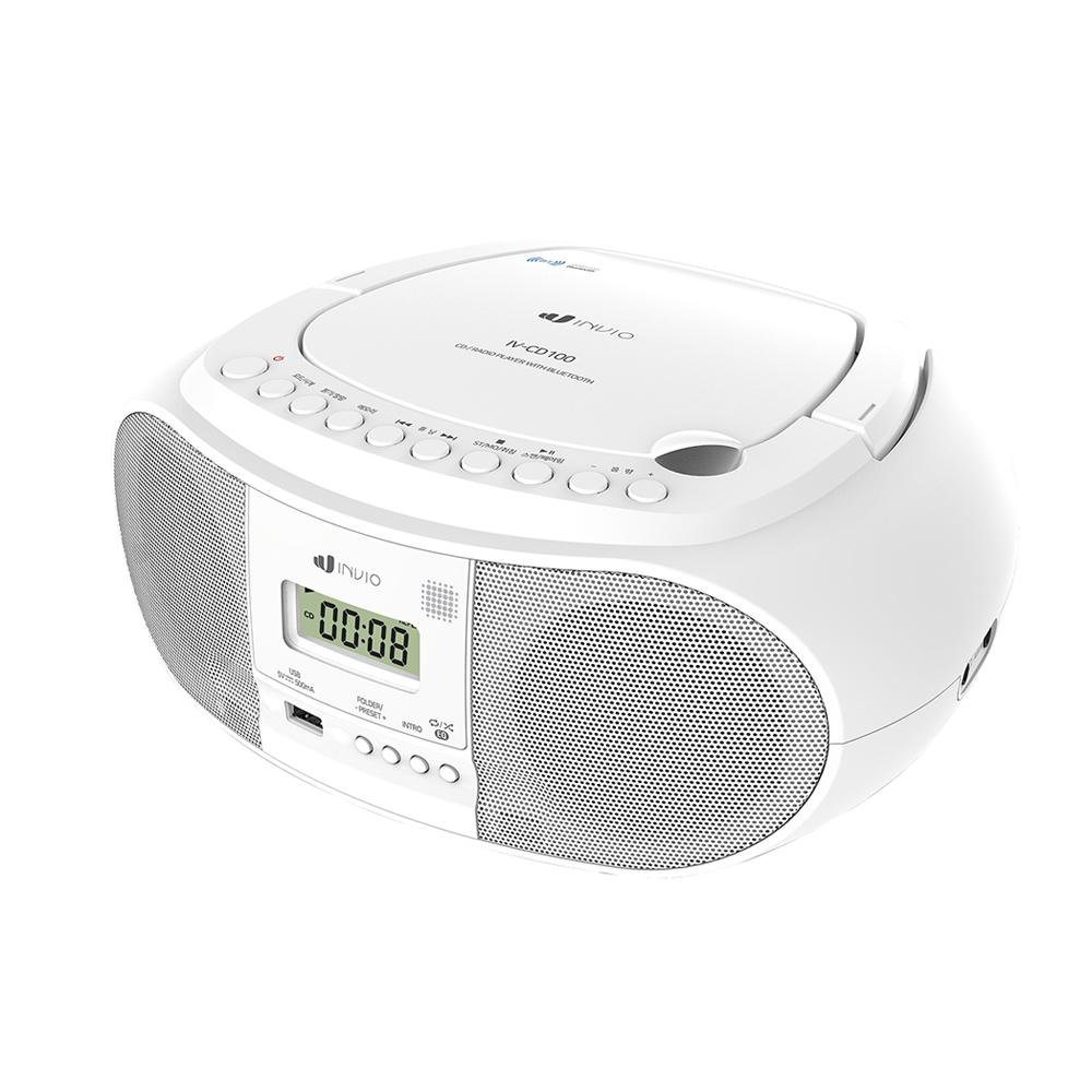 인비오 블루투스 CD 플레이어, IV-CD100, 단일색상