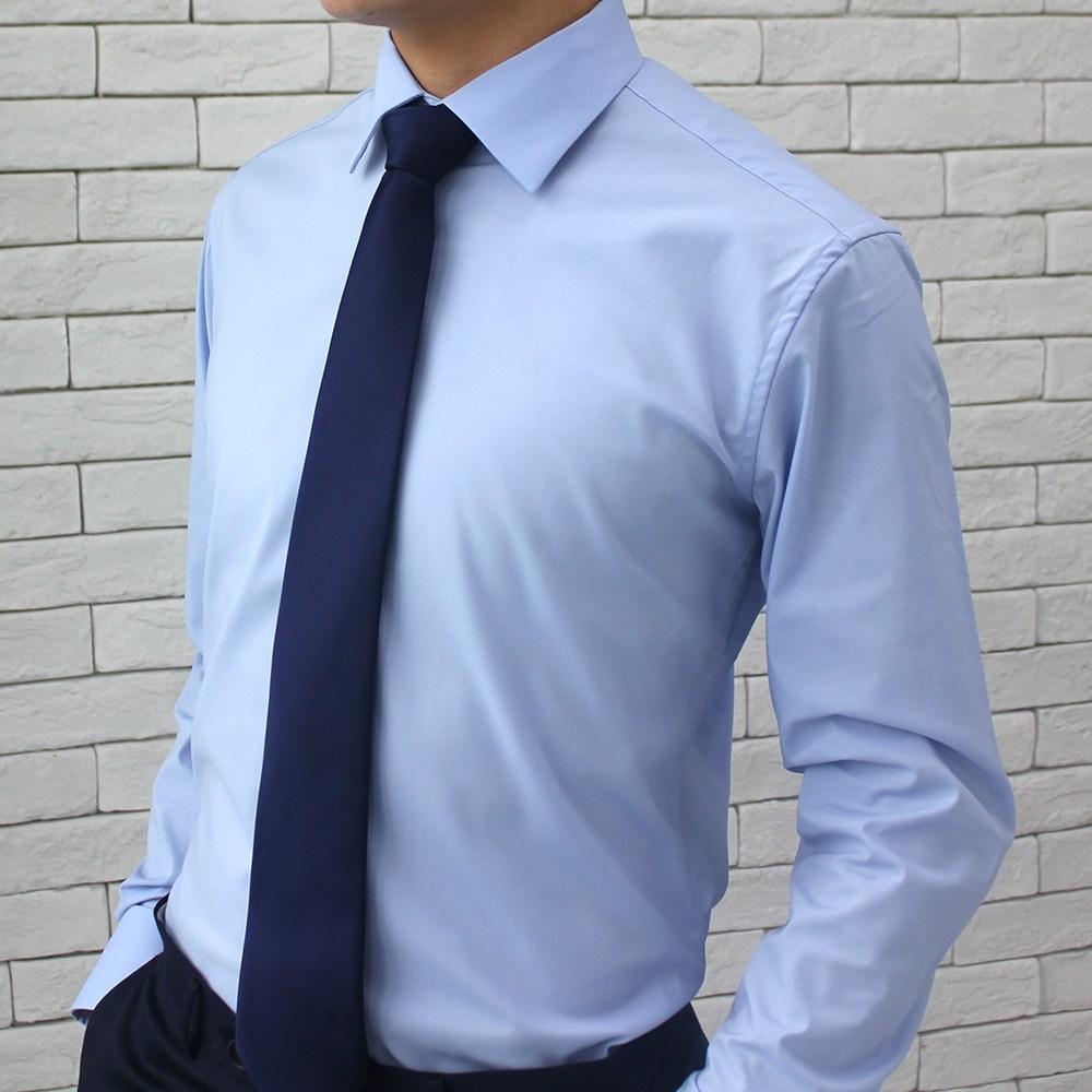 어셔츠 남성용 스판 정장 와이셔츠