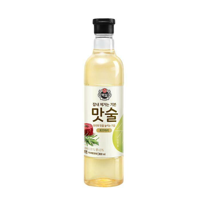 CJ제일제당 백설 로즈마리 맛술, 800ml, 1개
