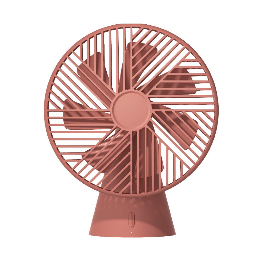 소싱 포레스트 탁상용 무선 선풍기, DSHJ-S-1907R, 라이트마젠타 (POP 4975374616)