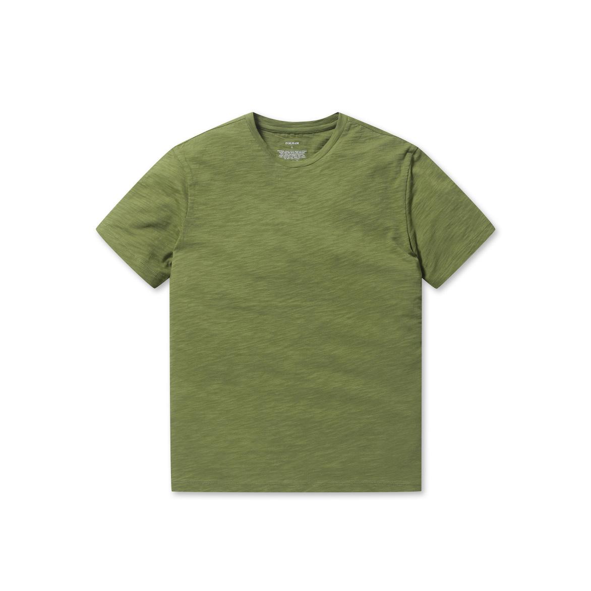폴햄 슬럽 라운드넥 반팔 티셔츠 PHA2TR3830