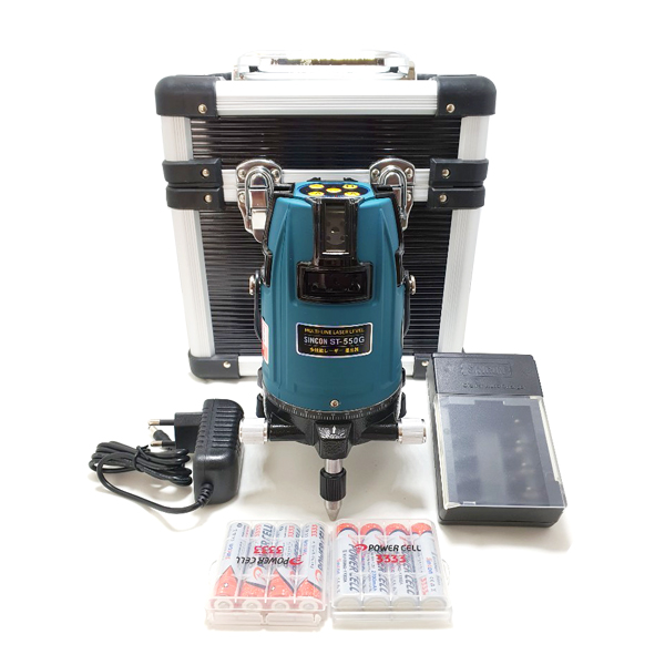 신콘 전자식 그린 레이저 레벨기 ST-550G, 1개