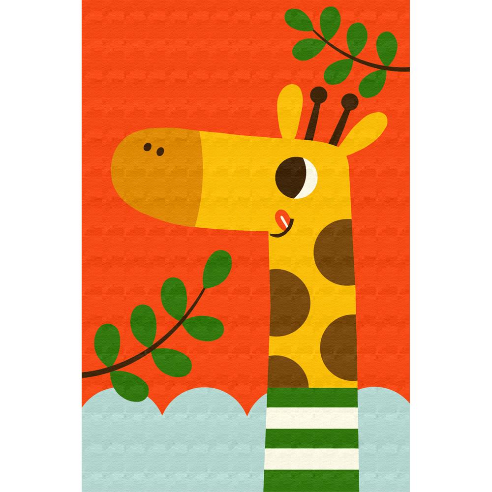 아트조이 DIY 명화그리기 10 x 15 cm, 아기 기린 폴