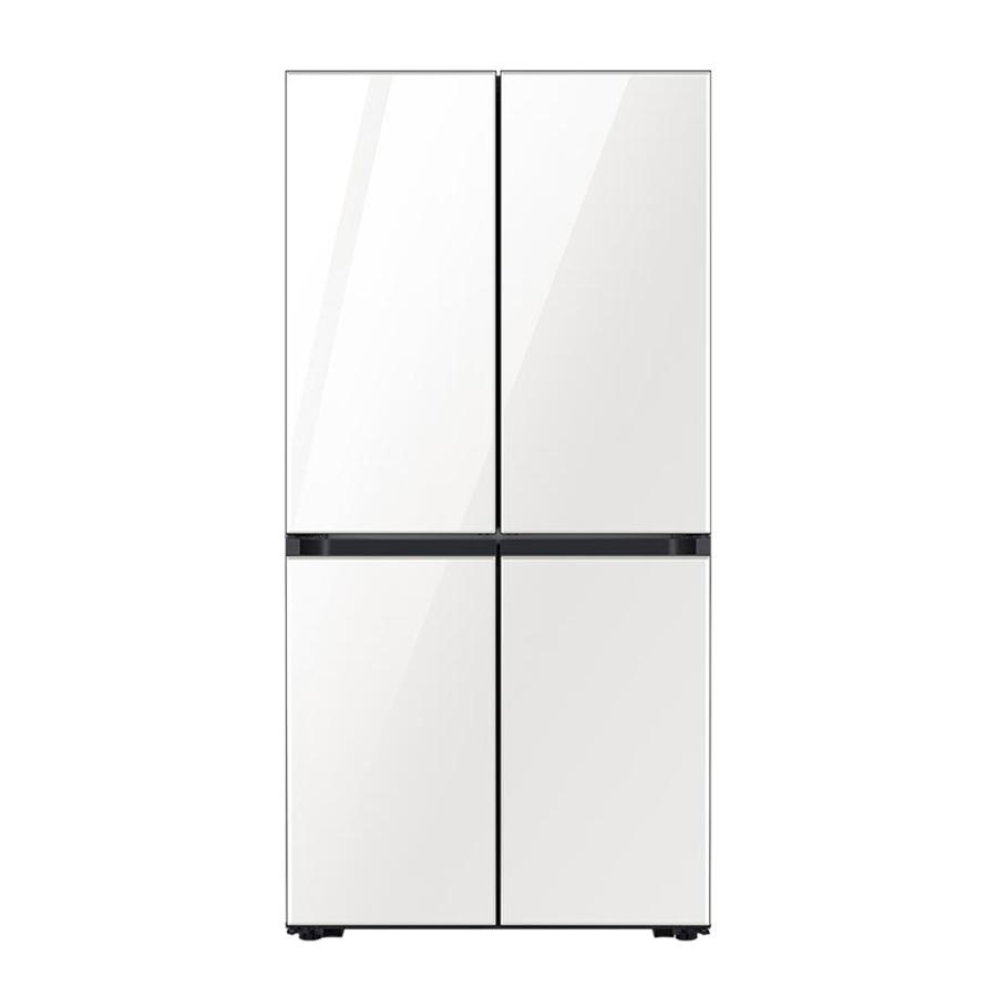 삼성전자 비스포크 4도어 냉장고 키친핏 글램화이트 RF61T91C335 605L 방문설치