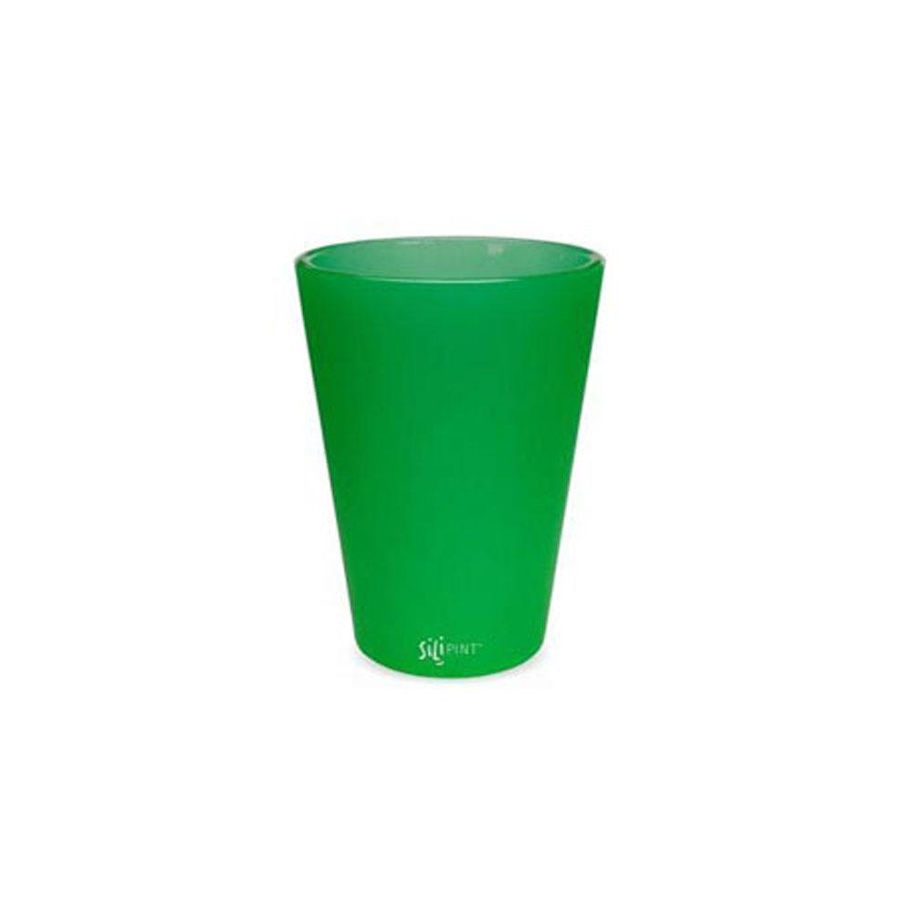 실리파인트 파인트 물컵 450ml, 에메랄드, 1개