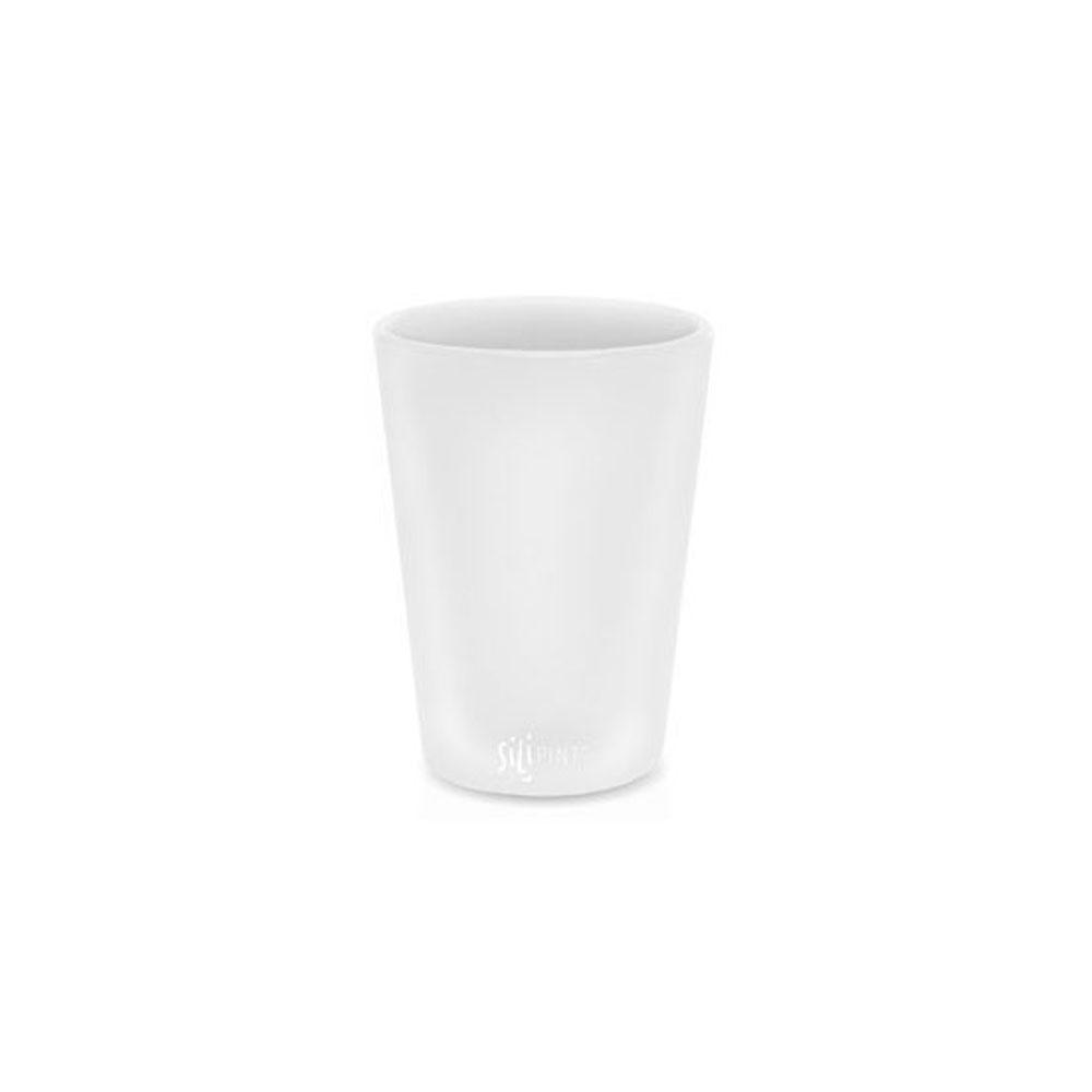 실리파인트 하프파인트 물컵 230ml, 화이트, 1개