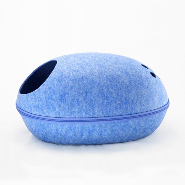 멍지 고양이 숨숨집 에그 하우스, 블루