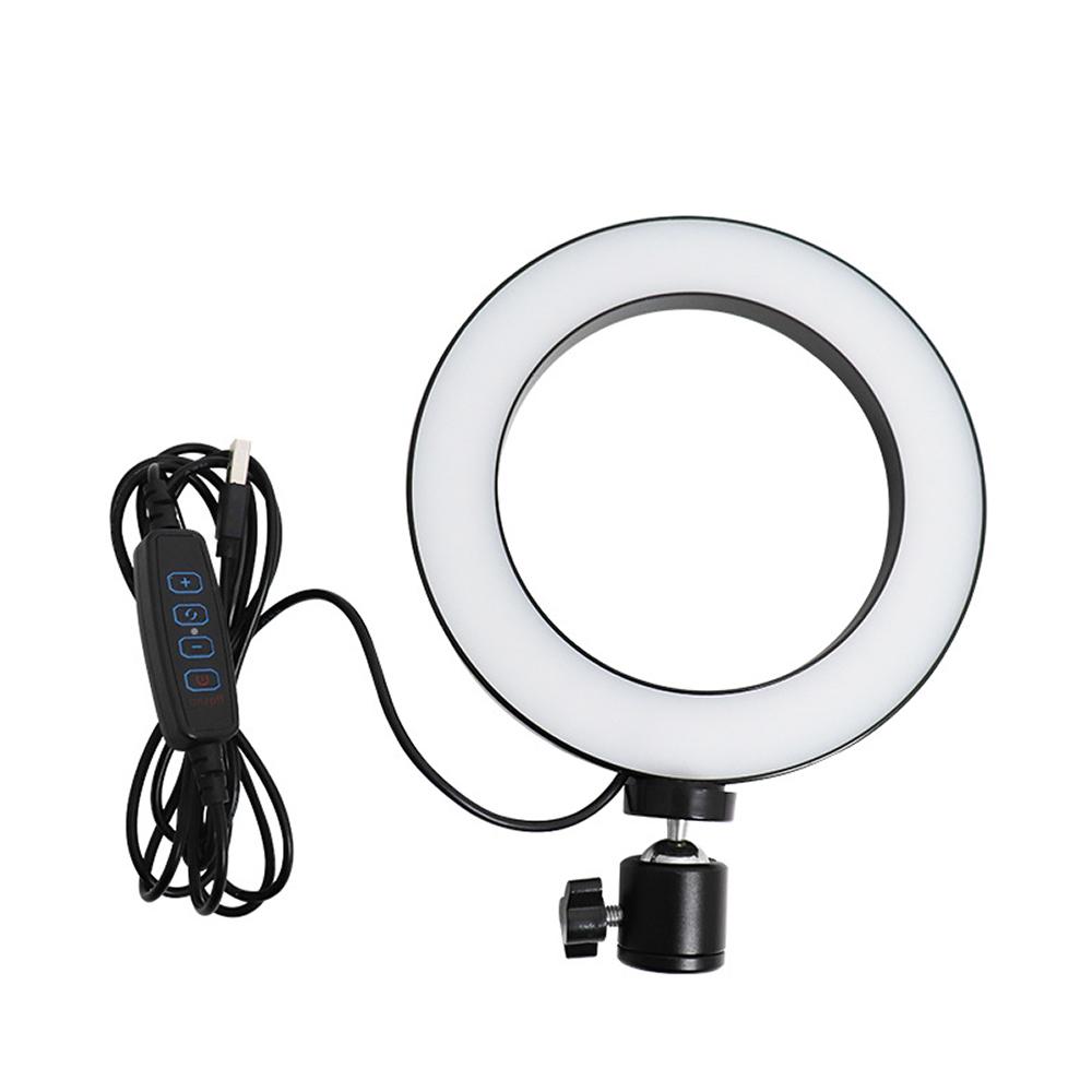 방송 LED 링 조명 25.5 x 25.5 x 2.3 cm, 1개, ZM-HX260LG
