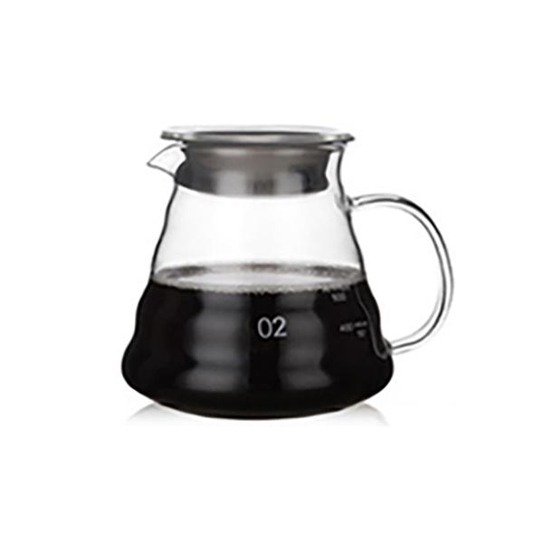 칼딘 드립 커피 계량서버 컵 MS-07 600ml, 1개