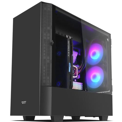 다크프레쉬 AZ PC케이스 DLV 22 RGB, DLV 22 RGB(블랙)
