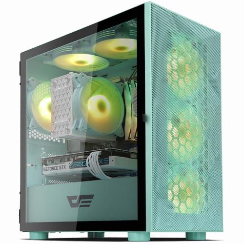 다크프레쉬 AZ PC케이스 DLM 21 RGB, DLM 21 RGB(메쉬 민트)
