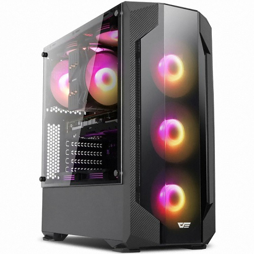 다크프래쉬 AZ RGB 퍼펙트 튜닝 미들 타워 PC 케이스 G-CLASS 500 블랙