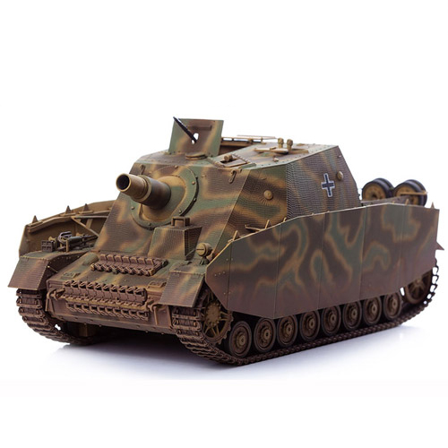 아카데미과학 1대35 독일 4호 돌격전차 브롬베어 중기생산형 프라모델 13525, 1개