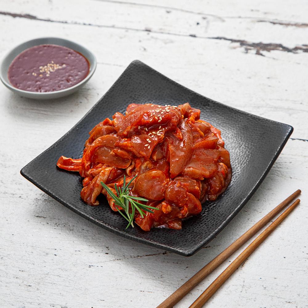 모아미트 순삭 춘천식 매콤 닭갈비, 1kg, 1개