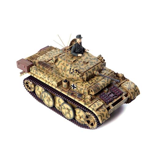 아카데미과학 독일 2호 룩스L형 전차 프라모델 1:35 13526, 1개