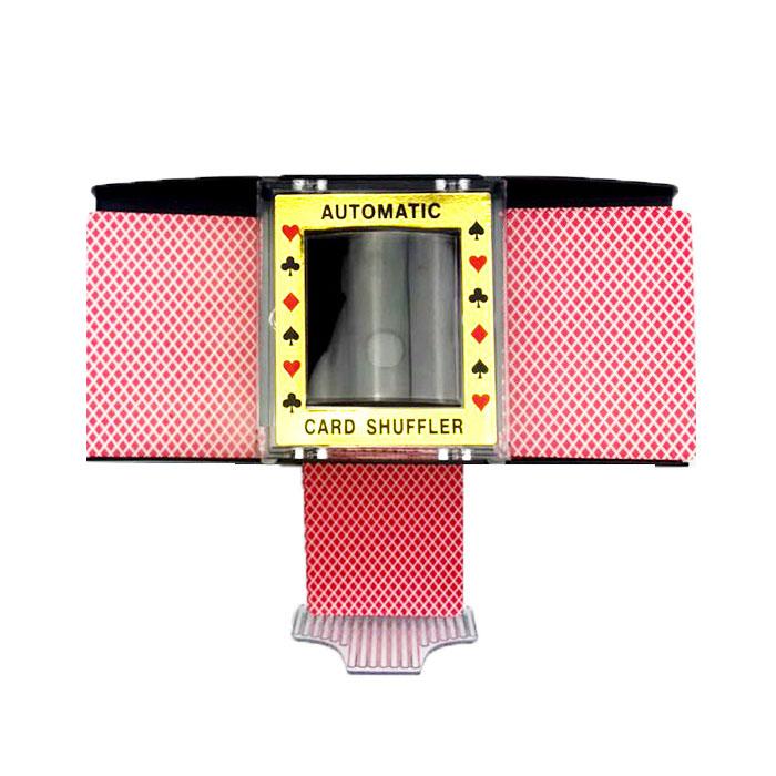 포커 카드 셔플러 딜러 머신 보드게임 215 x 110 x 110 mm, 혼합색상