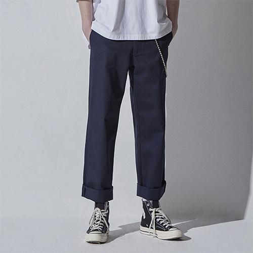 어드바이저리 Basic Cotton Pants