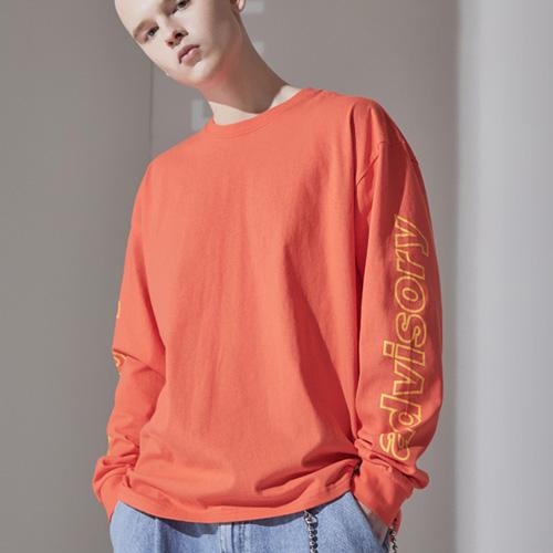 어드바이저리 남성용 로고 롱 슬리브 티셔츠