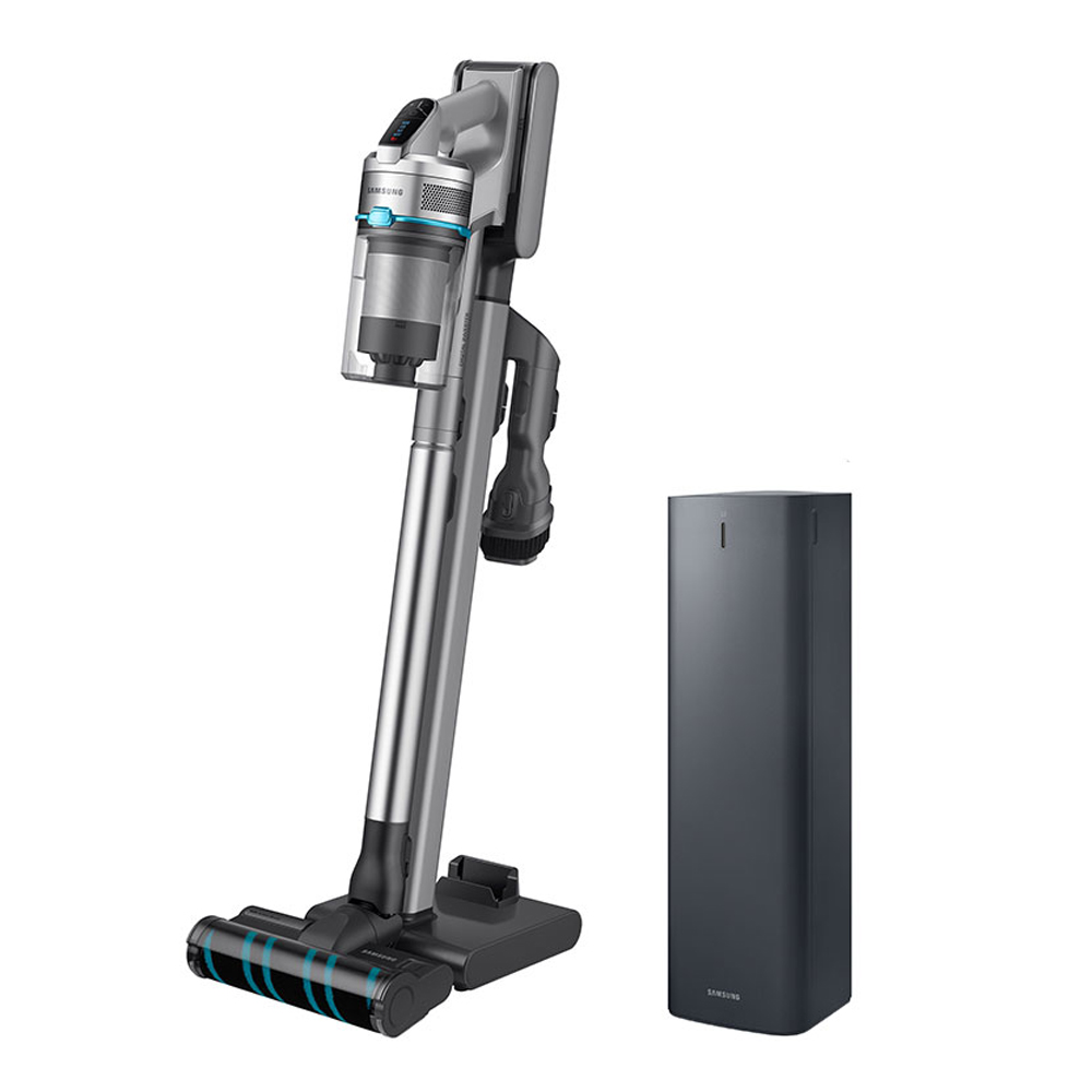 삼성전자 제트 무선 청소기 청정스테이션 패키지 방문설치, 청소기(VS20R9044SB), 청정스테이션(VCA-SAE90A), 실버