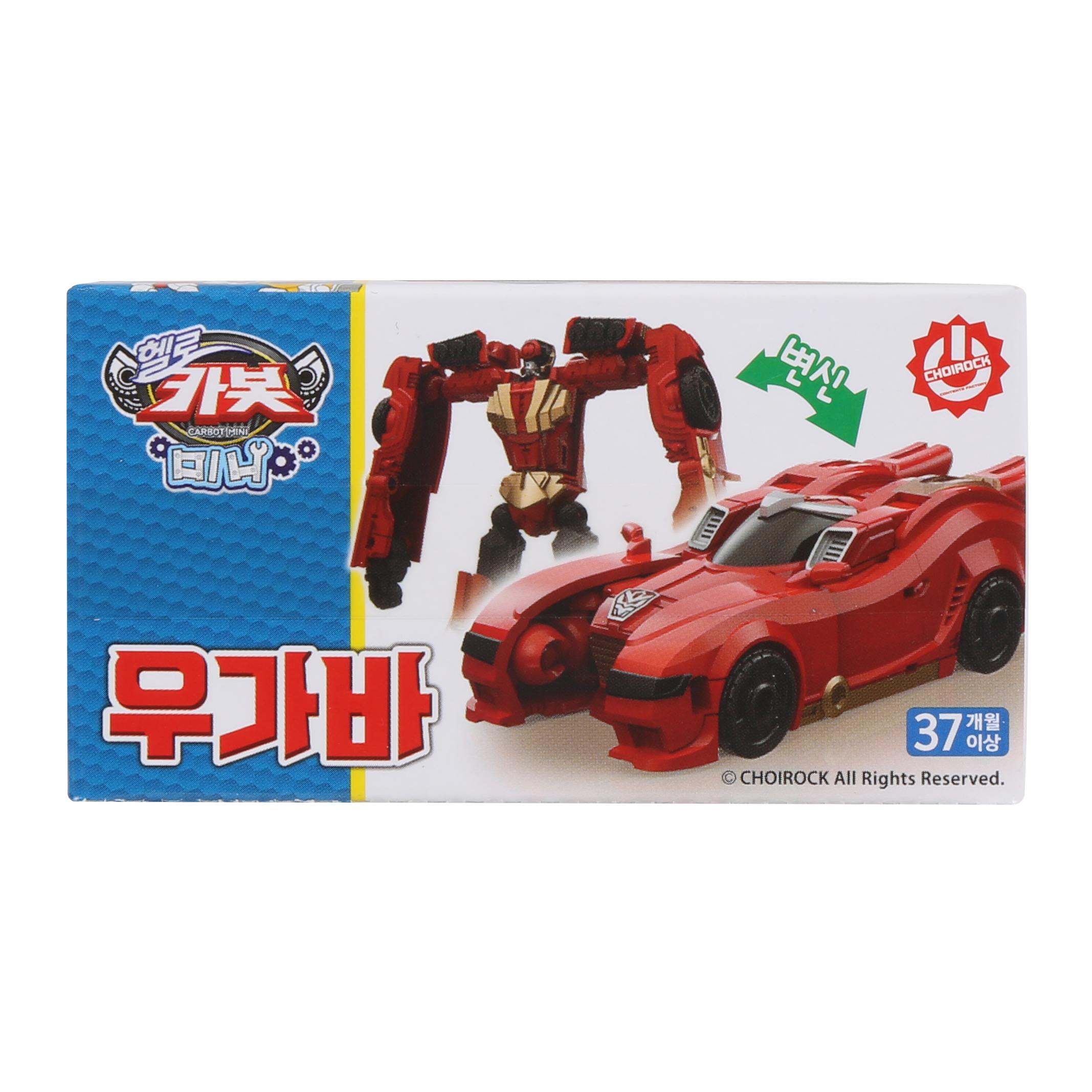 헬로카봇 미니 우가바 장난감, 혼합색상