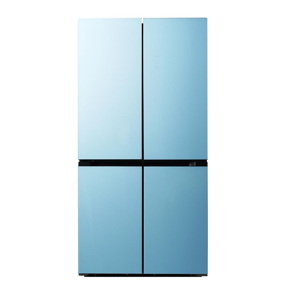 캐리어 클라윈드 피트인 파스텔 냉장고 CRF-SN560MFC 566L 방문설치, CRFSN560MFC