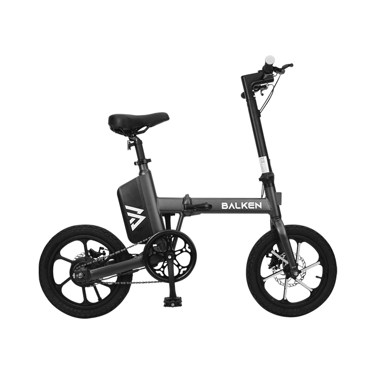 발켄 전기자전거, 올블랙