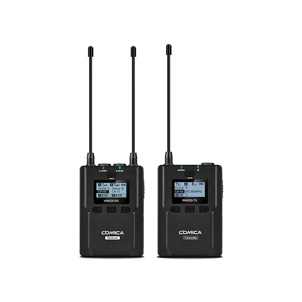코미카 UHF 1채널 무선마이크, WM200C