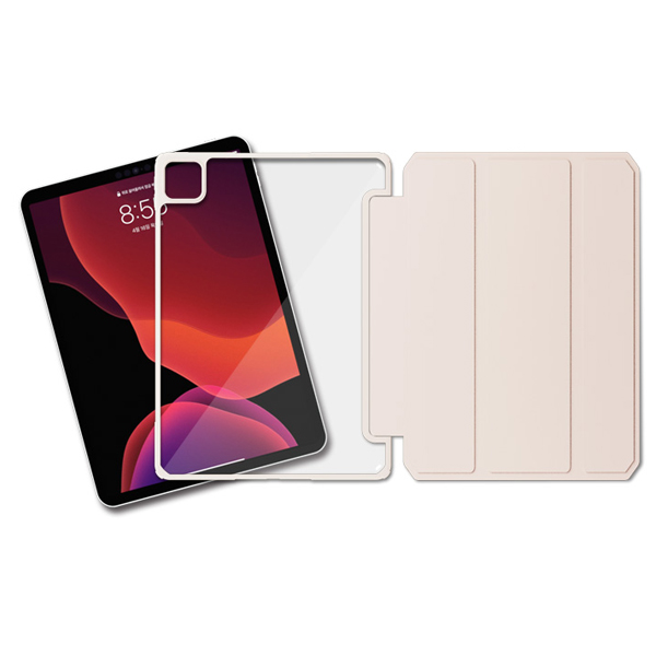 라이노 클리어 쉴드 태블릿PC 케이스, 핑크샌드
