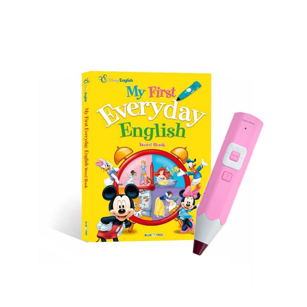 디즈니 생활 영어 사전 + 레인보우 세이펜 핑크 32G, 블루앤트리